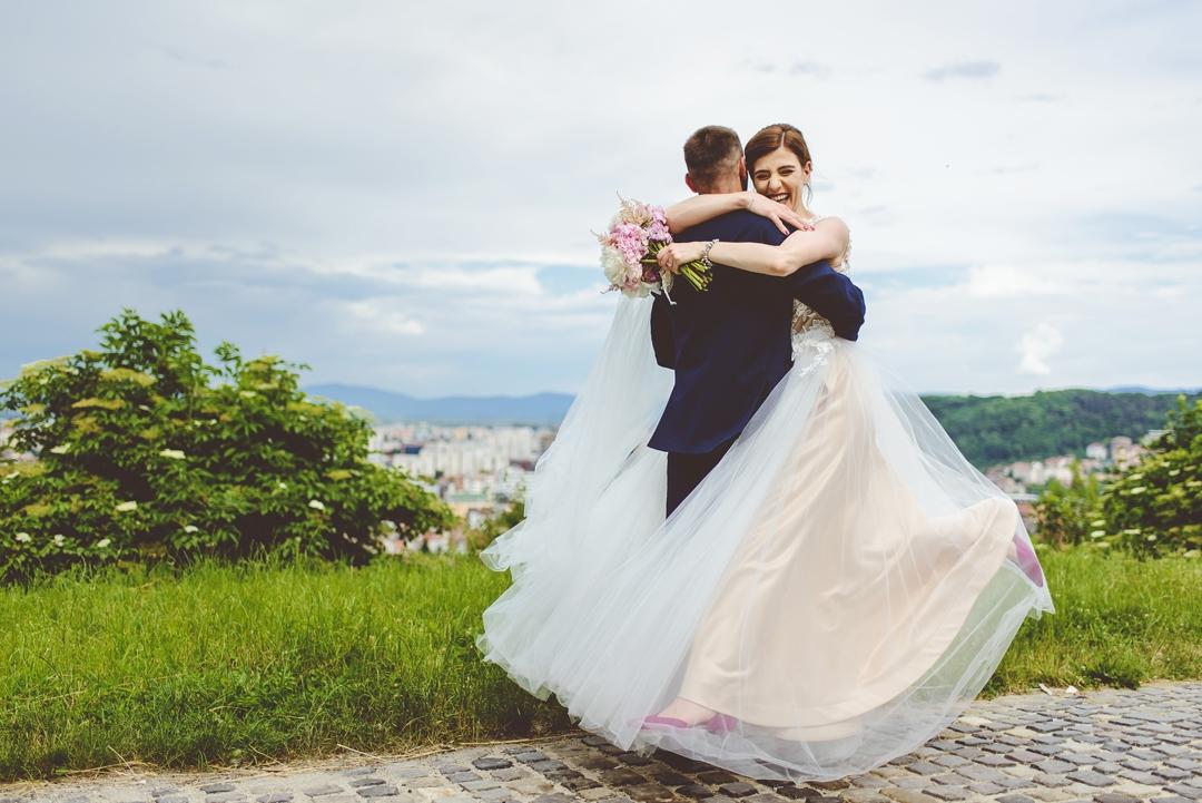 Elena si Ciprian Nunta la Belvedere cu trupa Select